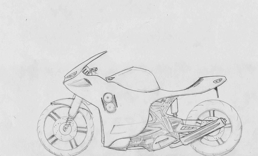 Anto's Kawasaki Ninja. Photo courtesy - Internet